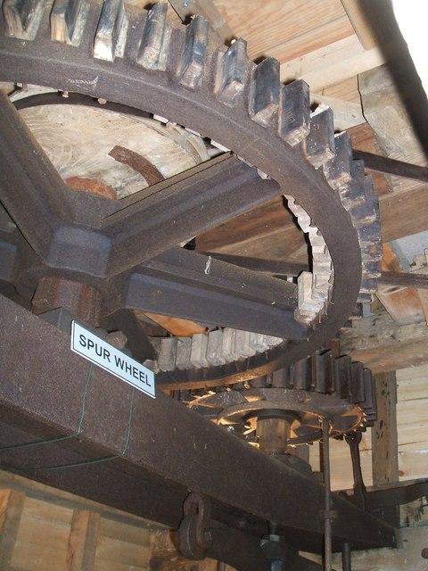 Spur wheel at Cromer Mill