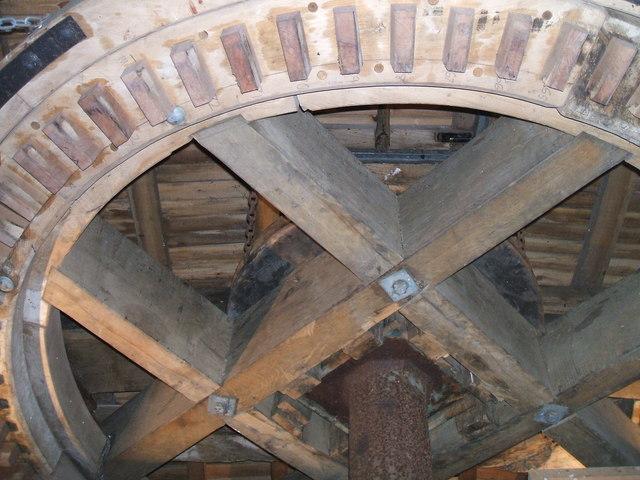 Brake Wheel at Cromer Mill