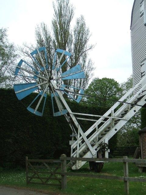 Fan Tail at Cromer Mill