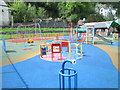 SJ2142 : Play Area - Riverside Park by Betty Longbottom
