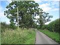 SP1162 : Lane to Shelfield Green by Robin Stott
