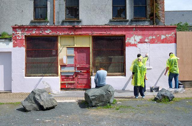 Barber Shop Bangor : Former Barbers Shop, Bangor (C) Rossographer :: Geograph Ireland