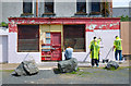 J5081 : Former Barber's Shop, Bangor by Rossographer