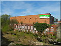 SJ9090 : River Goyt/Dunelm Mill, Stockport by John Topping