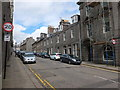 NJ9406 : Looking up Marischal Street, Aberdeen by Bill Harrison
