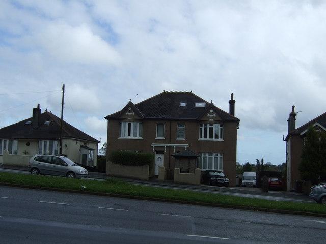 Houses on Tavistock Road