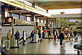 TQ2982 : Euston Station concourse, 1988 by Ben Brooksbank
