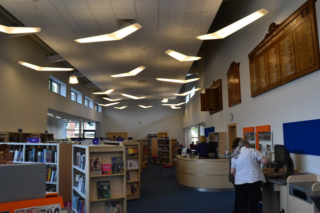 Ashbourne Library, interior (2) © Peter Barr :: Geograph ...