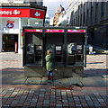 NS5965 : Telephone boxes, Glasgow by Rossographer