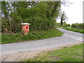 TM3588 : Lodge Road &amp; The Castle Postbox by Adrian Cable