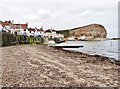 NZ7819 : The harbour and Cowbar Nab, Staithes, Nth. Yorkshire by Derek Voller