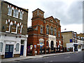 TQ2477 : Fulham Baptist Church, Dawes Road by Dr Neil Clifton