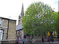 TQ2477 : Fulham:  St. Thomas' R C Church, Rylston Road by Dr Neil Clifton