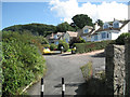 SX9272 : East end of Topcliff Road, Shaldon by Robin Stott