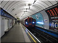 TQ2978 : Pimlico tube station - southbound platform by Mike Quinn