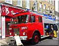 TR0161 : 1972 fire engine in Preston Street, Faversham by pam fray
