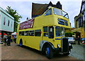 TR0161 : Old open top bus by the Guildhall, Faversham by pam fray