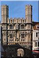 TR1457 : Christ Church Gate, Canterbury (1979) by David Dixon