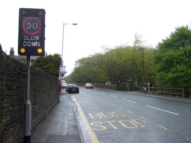 A647 road