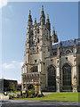 TR1557 : Canterbury Cathedral by David Dixon