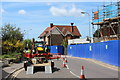 TQ7308 : Roadworks on London Road by Oast House Archive