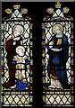 TQ7469 : All Saints, Frindsbury - Stained glass window by John Salmon