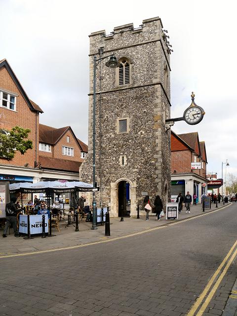 St George S Clocktower Canterbury 169 David Dixon