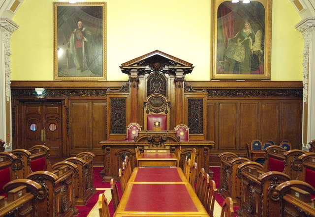 The Council Chamber Belfast City Hall 169 Rossographer Cc