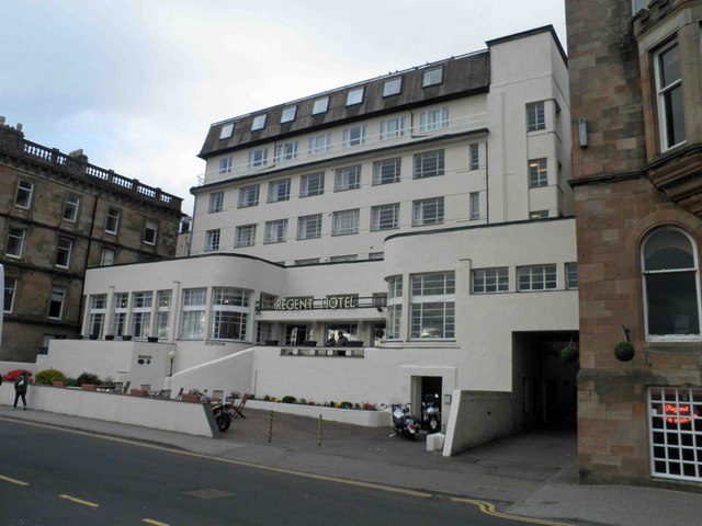 The Art Deco Regent Hotel Oban Perfect For Mr Poirot