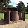SE2812 : Anthony Caro piece, Yorkshire Sculpture Park by Robin Stott