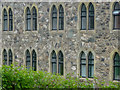 SK4516 : Windows, Mount St Bernard Abbey, Leicestershire by Christine Matthews