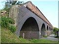 TF3902 : Former railway viaduct, Rings End, Cambridgeshire by Richard Humphrey