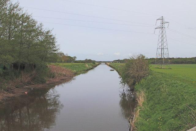 Three Pools Waterway as seen from Brook Farm Bridge