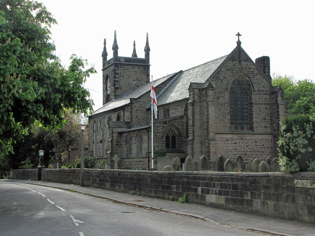 St. Thomas' Church in the  parish of Lydiate and Downholland