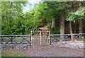 NH4141 : Gate to Cnoc an Taigh Mhòir by Craig Wallace