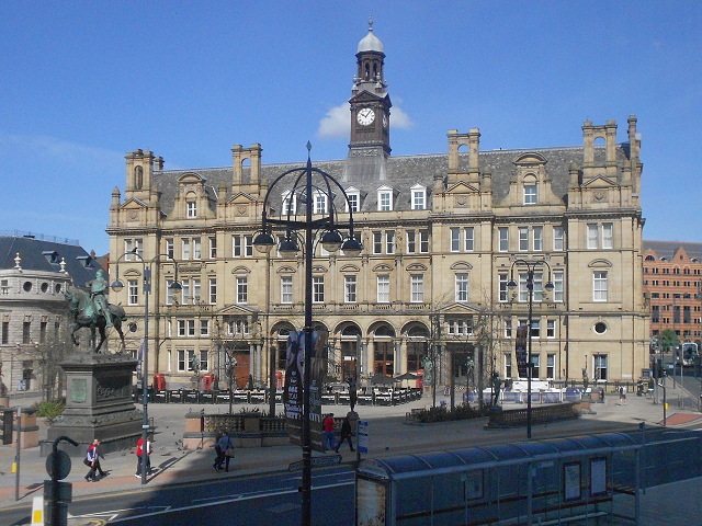 Leeds city square the old post office david dixon geograph britain and ireland - Great britain post office ...