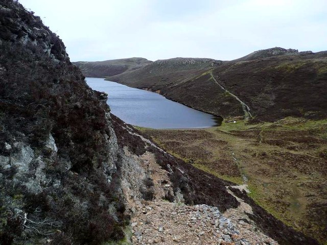 The path to Dun Caan