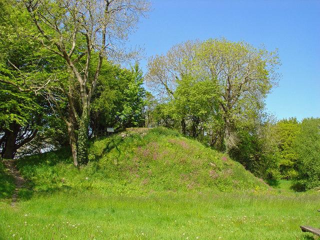 Motte: Castell Nanhyfer
