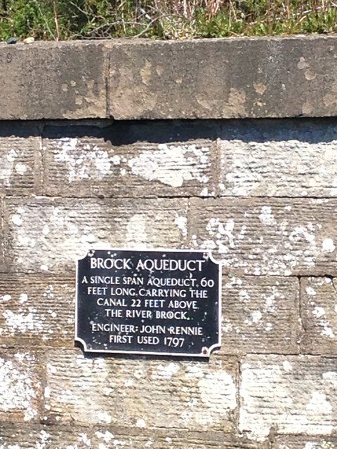 Sign on Brock Aqueduct