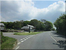 SX0369 : The A389 at Washaway by Ian S