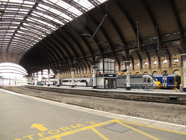 york station platform 6 169 stephen craven geograph