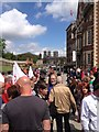 SE6051 : Anti EDL / fascist demonstration in York at the Rail Workers Memorial : Week 23