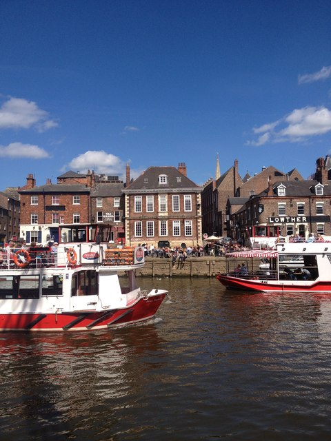 River cruise boats, River Ouse, York
