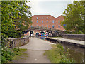 SJ9398 : Dukinfield Aqueduct and Portland Basin by David Dixon
