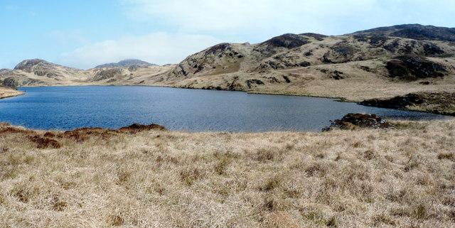Loch a Bhurra on Jura