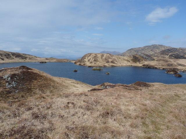 Loch nan Eillean on Jura