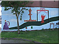NS6064 : Mural on Abercromby Street by Thomas Nugent