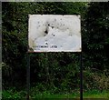 SK5707 : Beaumont Leys Phase One sign by Andrew Tatlow