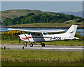 NM9035 : G-ROOK departing Oban Airport by TheTurfBurner