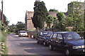 SP5003 : South Hinksey: St Lawrence Road past St Lawrence church, 1987 by Christopher Hilton